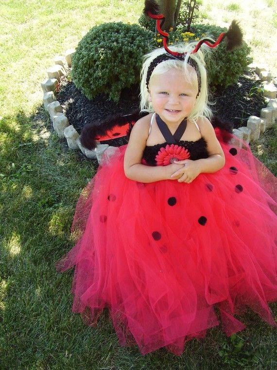 Lovely Little Ladybug Couture Halloween/Pageant Dress Infant/Toddler - toddler girl halloween costume ideas