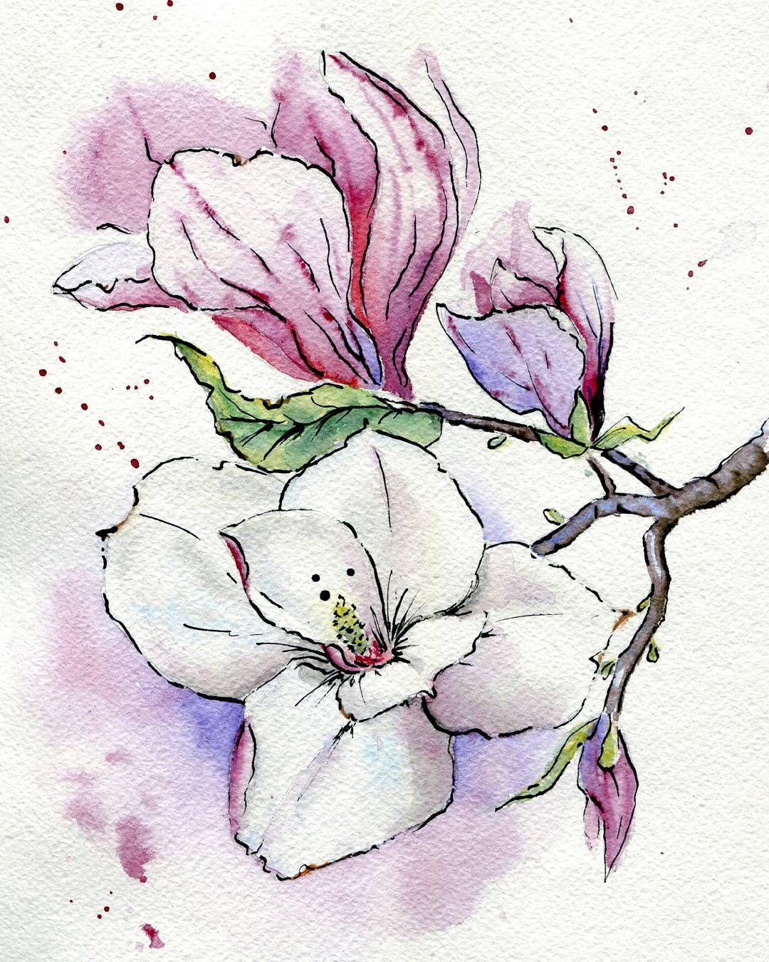 подготовленный рисуем цветы акварелью картинки выкладываем разделочную