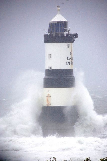 Penmon Lighthouse by pentreberwsjw, via Flickr