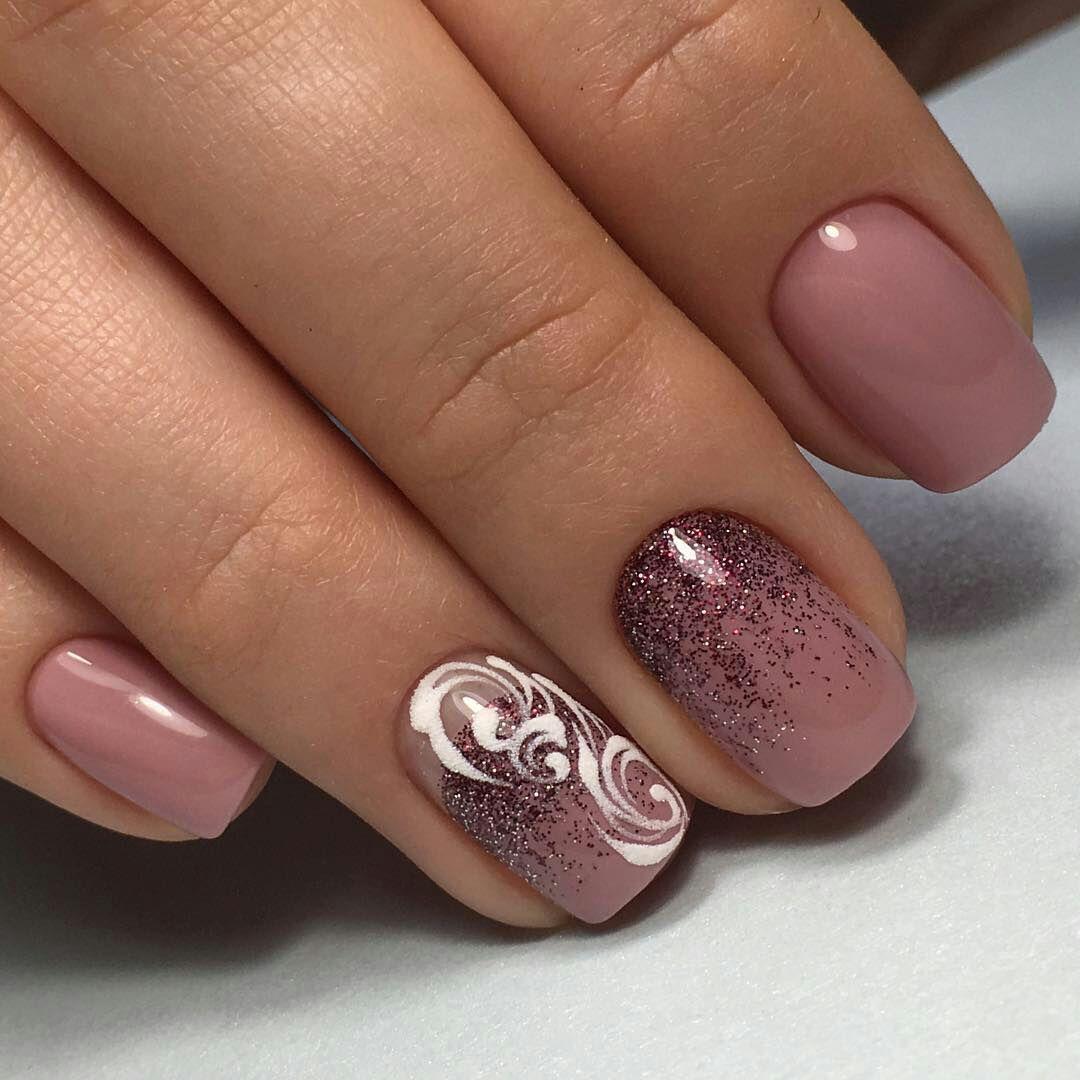 100 модных новинок: Маникюр на короткие ногти 2018 - дизайн с фото   Ногти, Красивые ногти, Дизайнерские ногти
