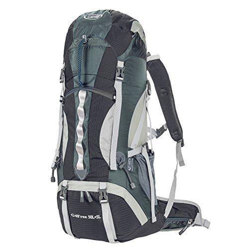G4Free 50L5L Outdoor Sport Waterresistant Internal Frame Backpack ...