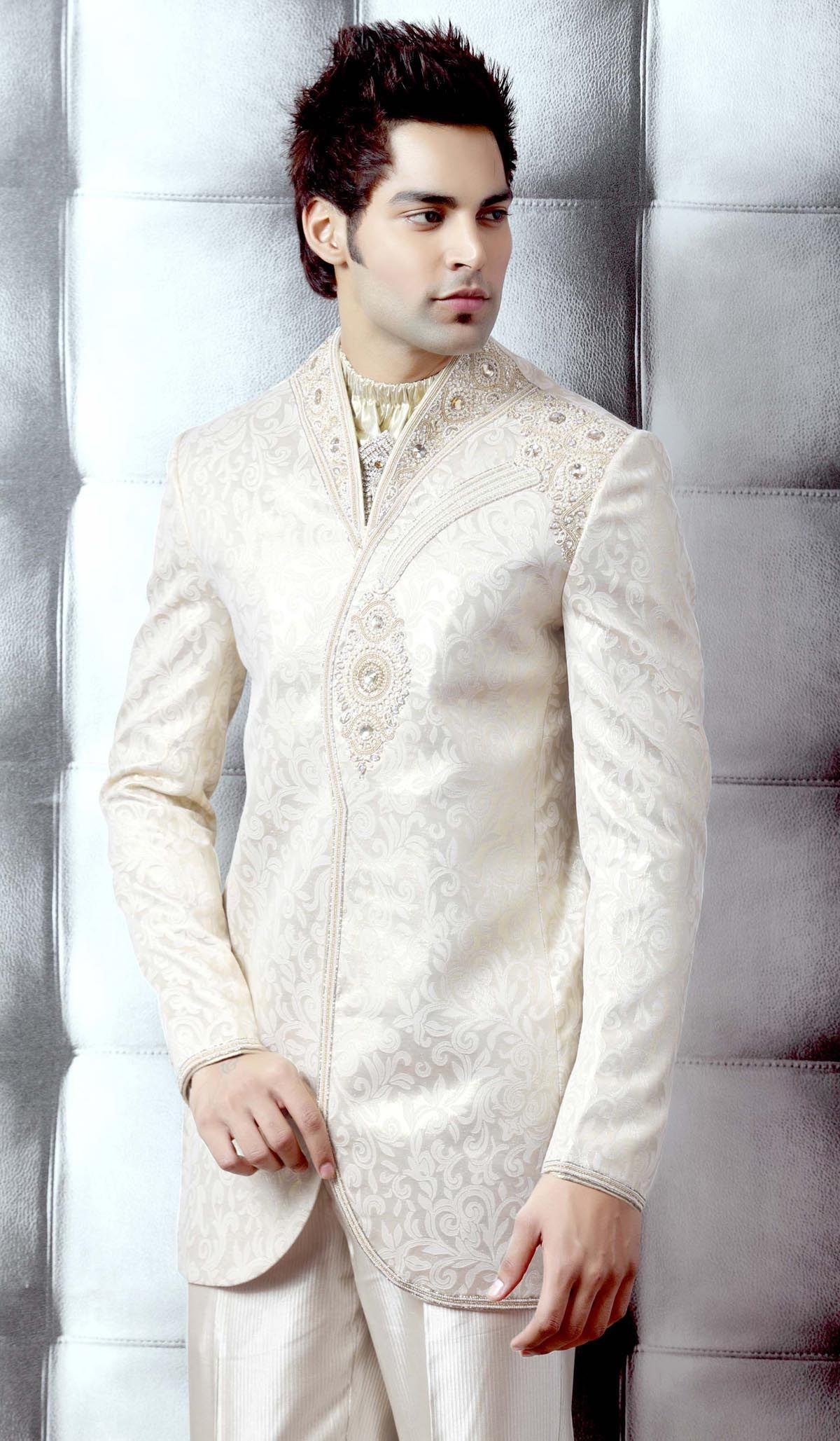 Mens sherwani suits wedding sherwanis suits indo for Men s dressing style for wedding