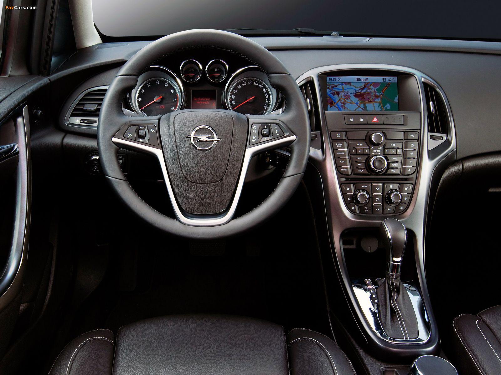 Opel Astra Sedan J 2012 Opel Facelift Turbo Intercooler