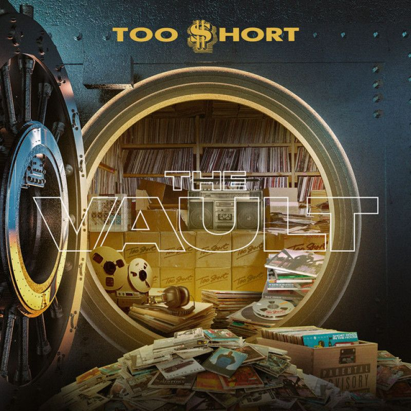 Too hort The Vault [COVER/TRACKLIST] tooshort [COVER