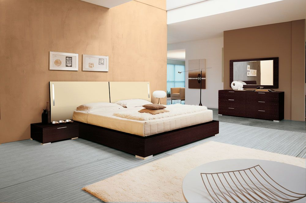 Enter Ivory Bedroom Set  Doimo Modern Bedrooms  Modern Bedroom - Italian Bedroom Sets