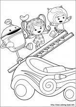 Umizoomi Coloring Pages On Coloring Book Info