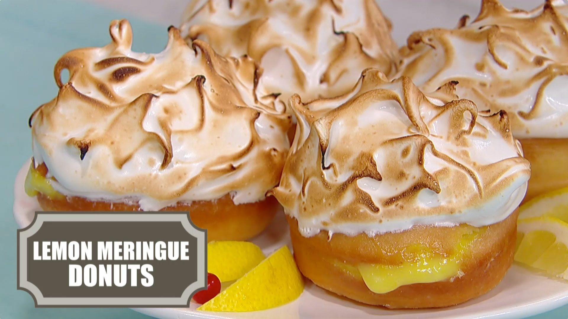 Lemon Meringue Donuts Recipe — Better Than Lemon Meringue Pie ...