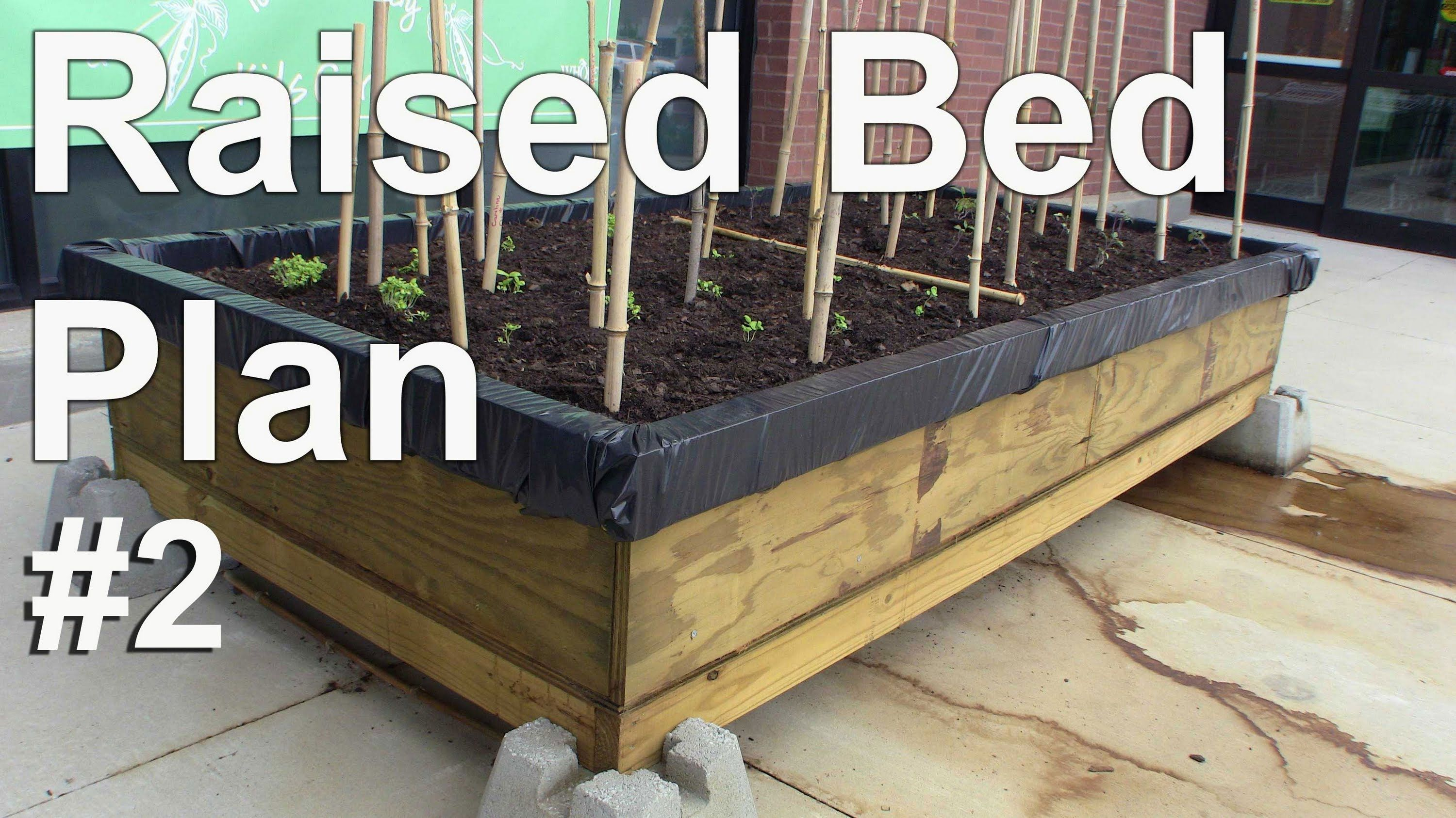 Raised bed plans for gardening on cement schoolyards or contaminated s raised bed - Urban gardening in contaminated areas ...
