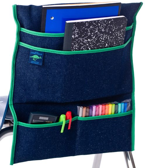 Classroom Chair Pockets for Storage and Organization