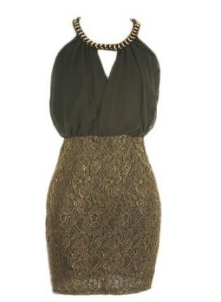 lace colorblock dress #bodycon #homecoming