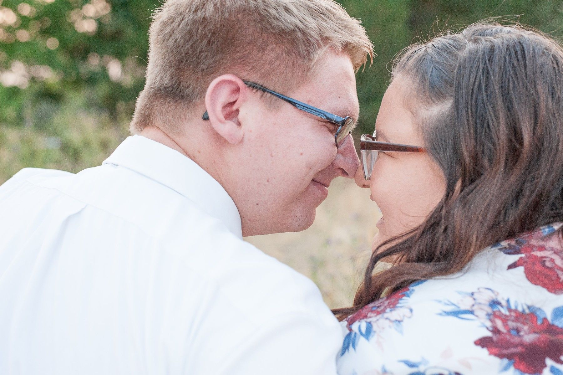 Nose kisses picture is a must have if thw couple is silly