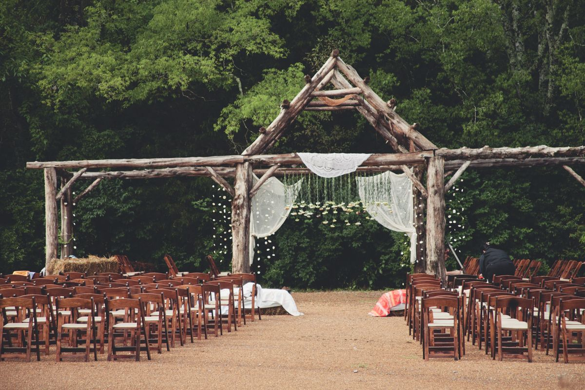 Cedar Arbor Cedar Arbor Green Door Outdoor Ceremony