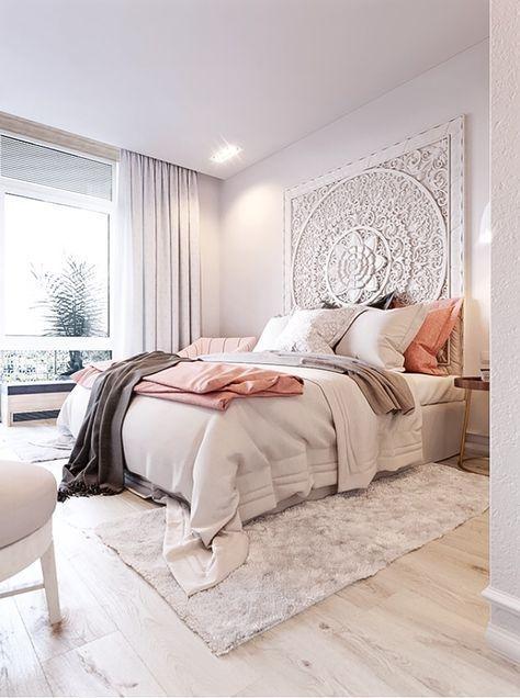 Creme /Braunes Schlafzimmer   Sehr Hell Gehalten. (Furniture Designs Detail)