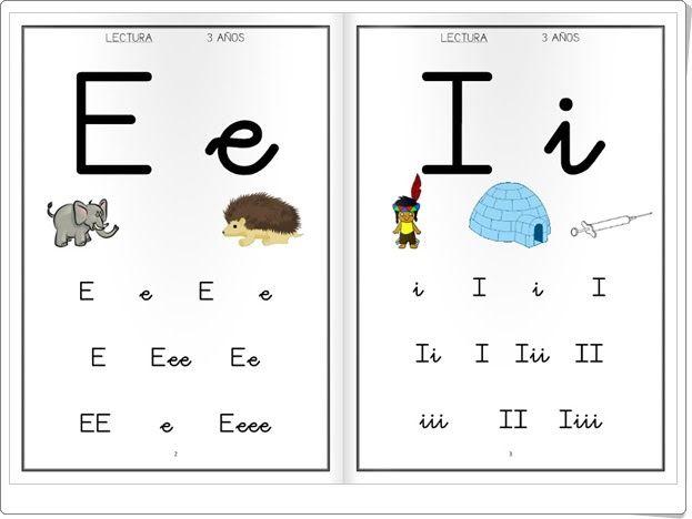 Cartilla De Lectura Infantil: Cartilla De Lectura De Educación Infantil De 3 Años