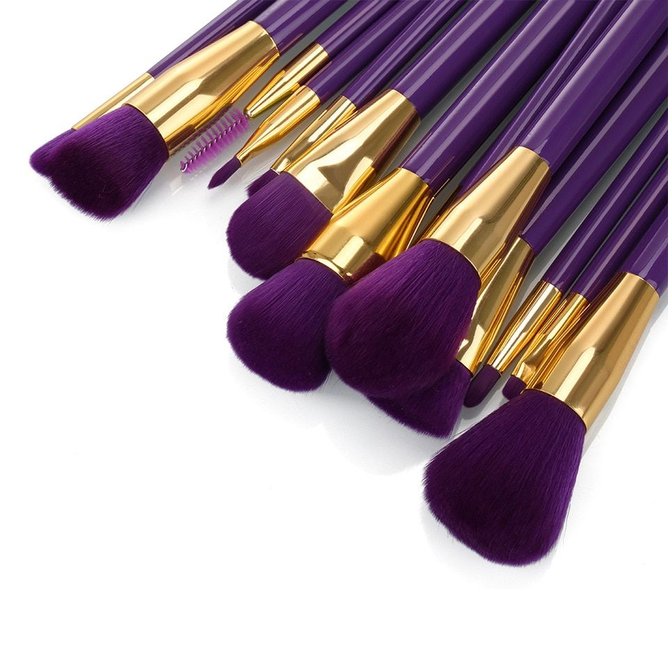 Photo of Hotrose Makeup Brushes 15pcs Professional Synthetic Cosmetic Foundation Eyebrow Blending Contour Makeup Classic Design Brush Kit brush kit designer makeup brushesmakeup brushes – AliExpress