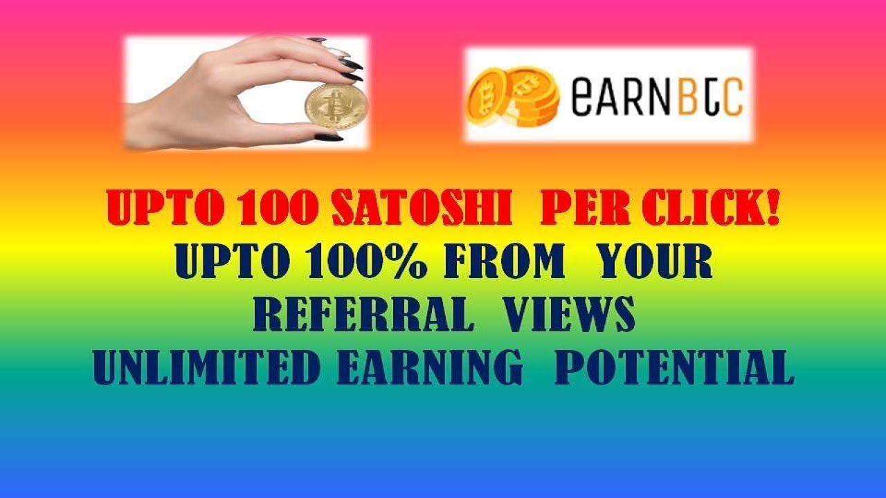 click and earn bitcoin
