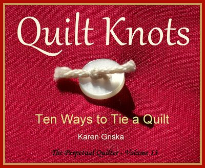 Selvage Blog: How to Tie a Quilt, Ten Ways to Tie a Quilt, Quilt ... : hand tying a quilt - Adamdwight.com