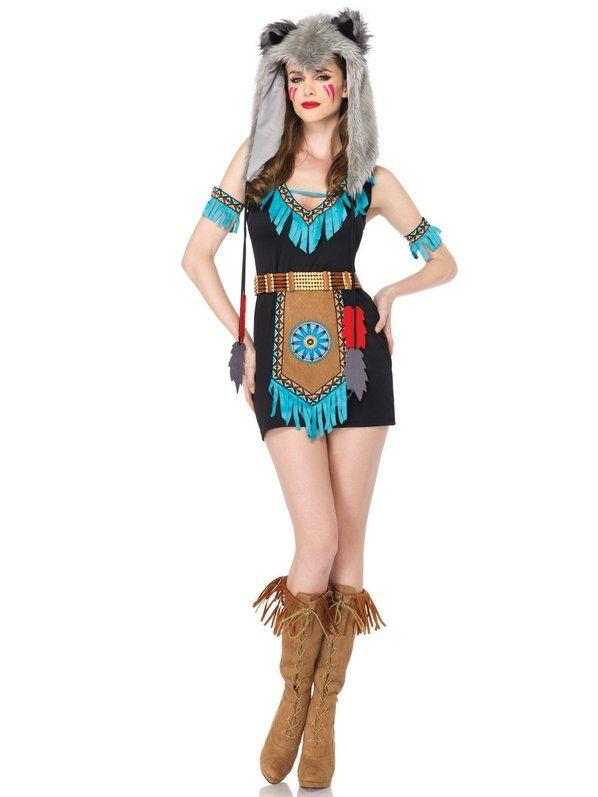 Sexy Adult Wolf Warrior Costume Halloween Costumes Pinterest