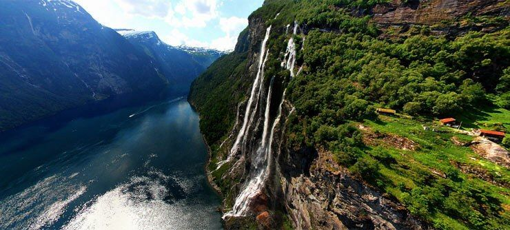 The Geirangerfjord, Norway