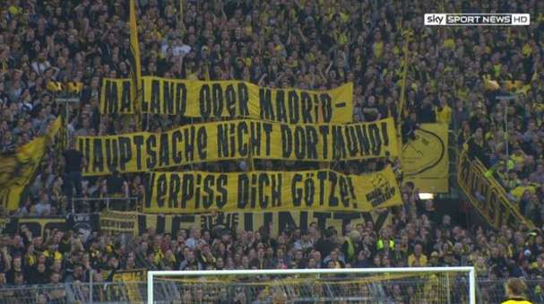 Liverpool Favourites To Sign Mario Gotze Now After Borussia Dortmund Banner 101 Great Goals Borussia Dortmund Dortmund Liverpool