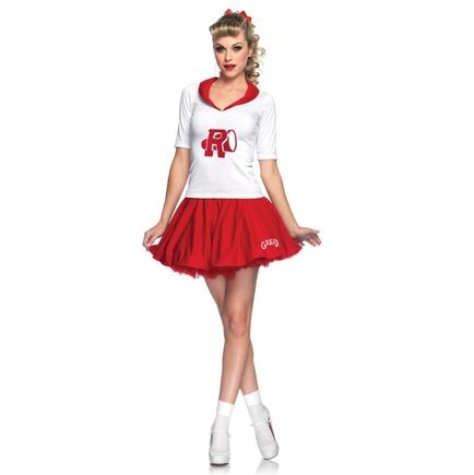 Picture of Adult Grease Rydell High Cheerleader Costume Costumes - greaser halloween costume ideas