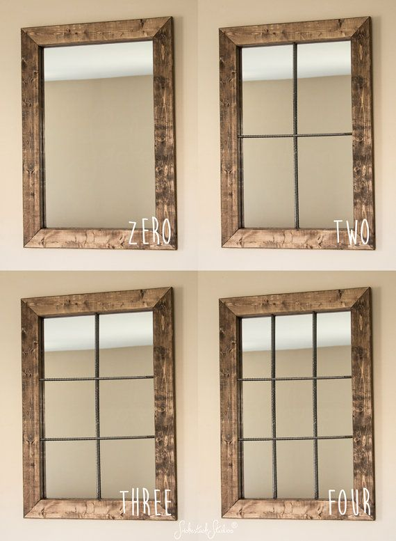 Living Room Can Choose Any Of These Rustic Mirror Large