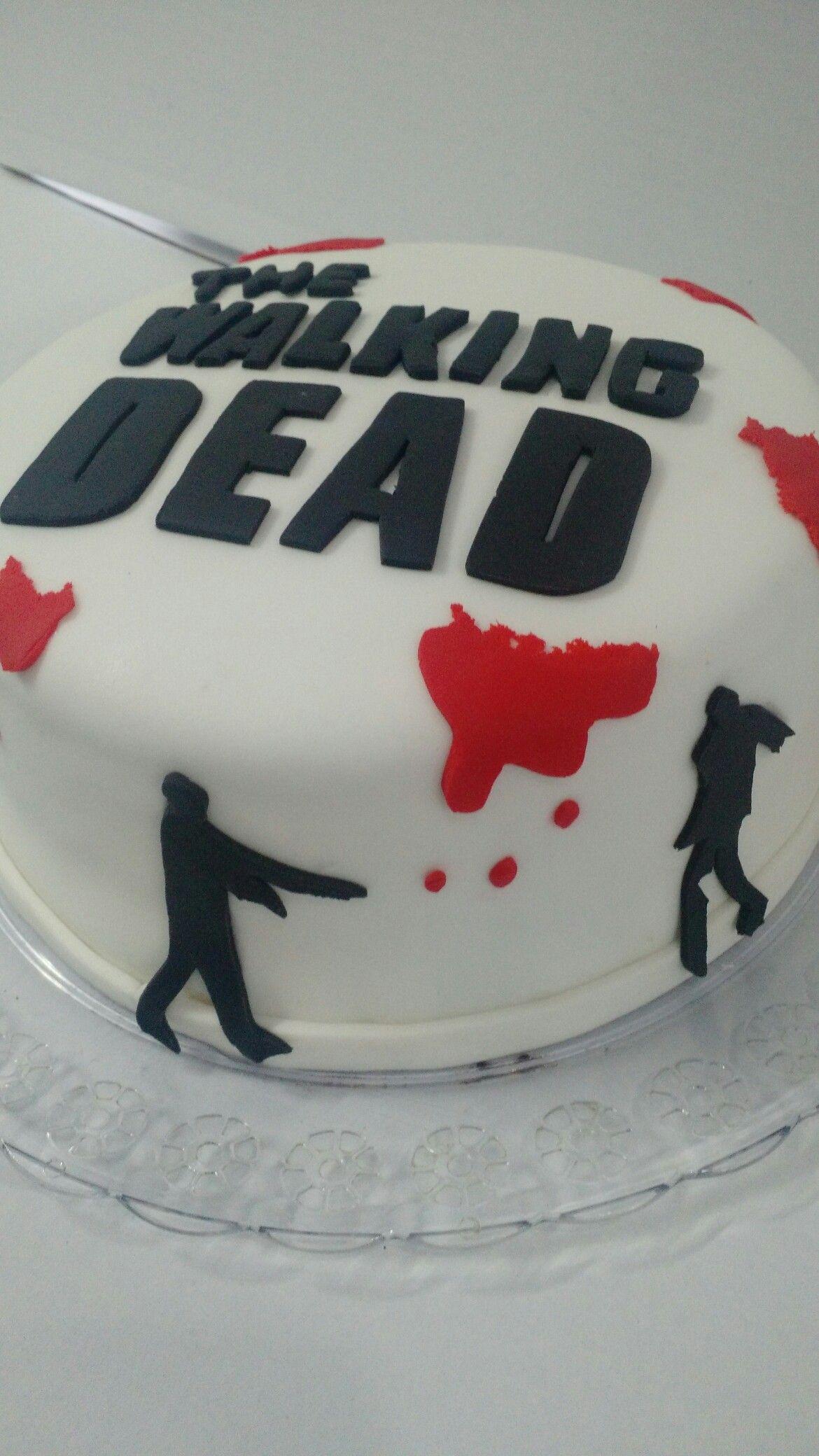 Wa walking dead pumpkin stencil - Bolo The Walking Dead