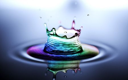 Rainbow Water Splash Cool Rainbow Raindow Water Cool Splash