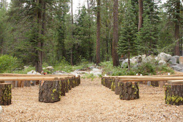 Groovy California Cabin Wedding Cabin Wedding Wedding Ceremony Ibusinesslaw Wood Chair Design Ideas Ibusinesslaworg