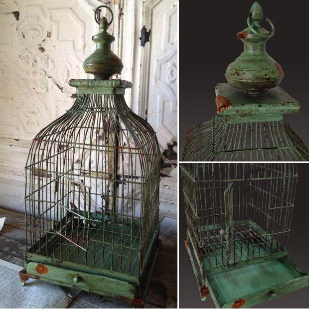 Decorative Bird Cages Part - 28: Decorative Bird Cages | Vintage Bird Cage | Bird Cage Decor