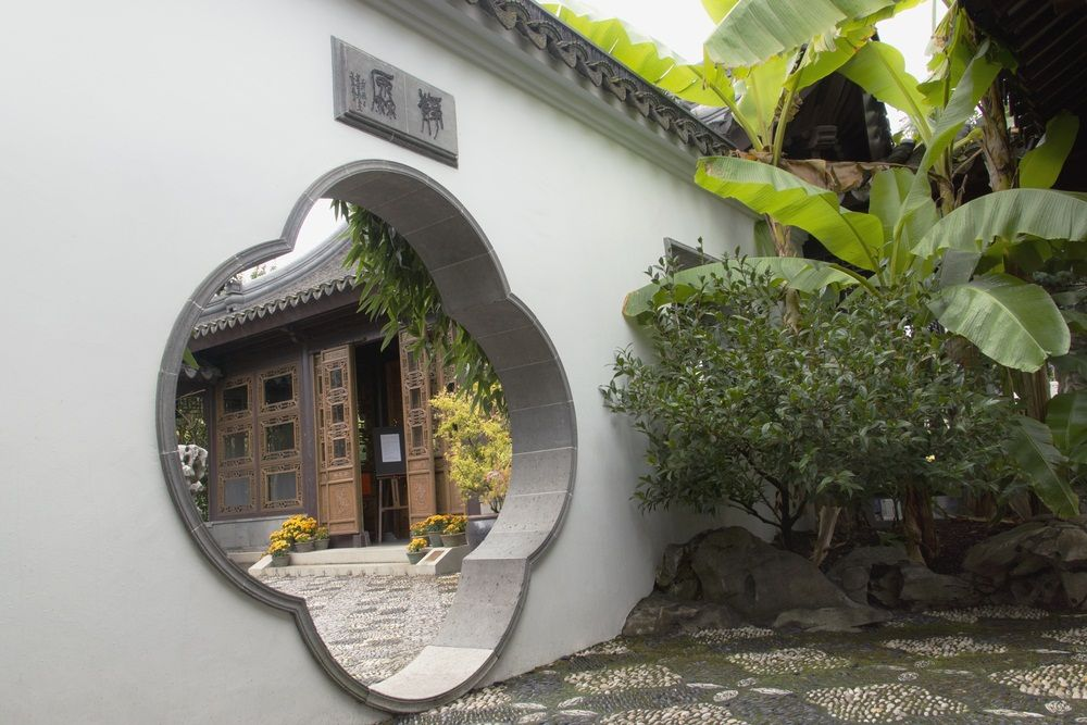 Spend an afternoon at the Lan Su Chinese Garden. Portland