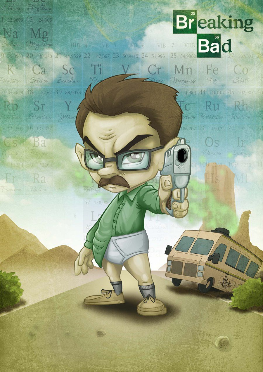 Breaking BAD by Vinz-el-Tabanas on DeviantArt