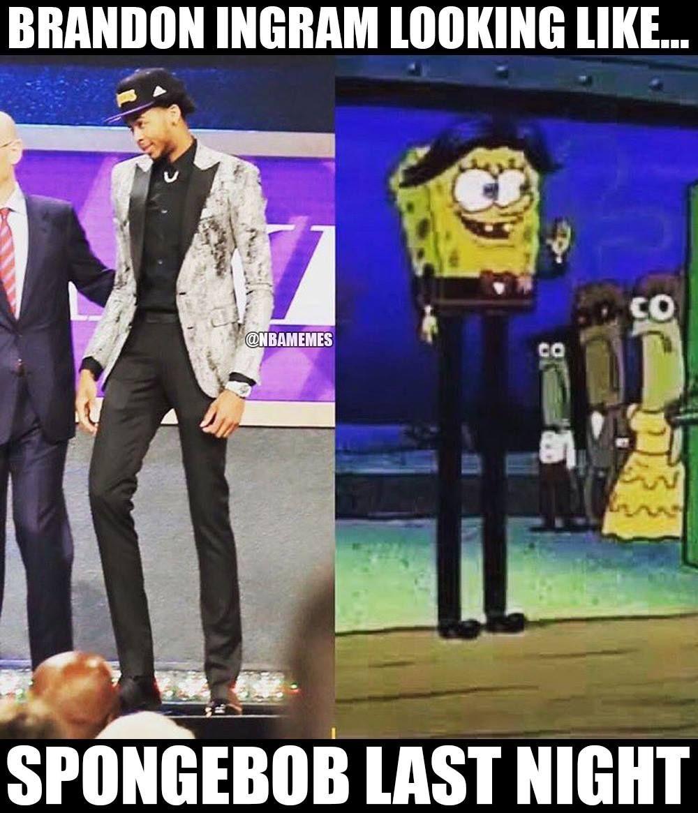 Rt nbamemes brandon ingram got the longest legs ever lakers http
