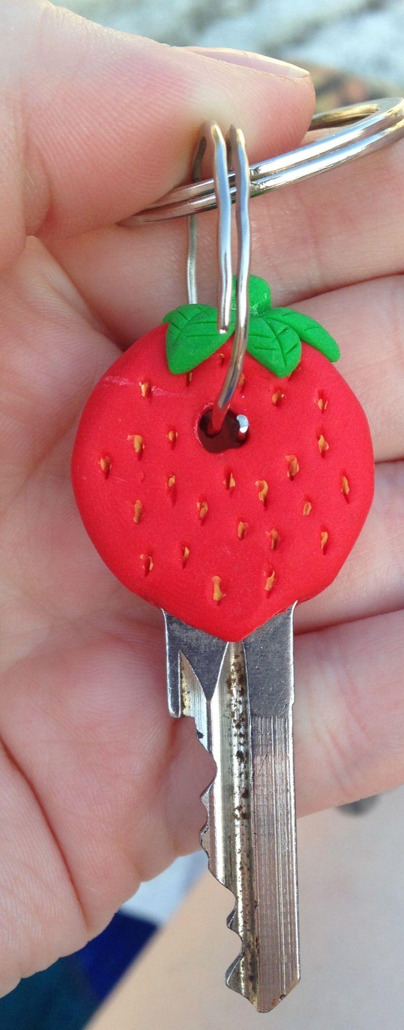 Strawberry on my keys :)