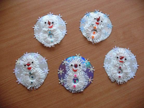 Las ideas de reciclaje tutoriales cuties mu eco de nieve for Reciclaje manualidades decoracion