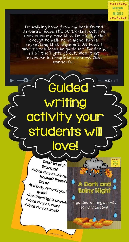 writing, guided writing, grade 5, grade 6, grade 7, grade 8 ...
