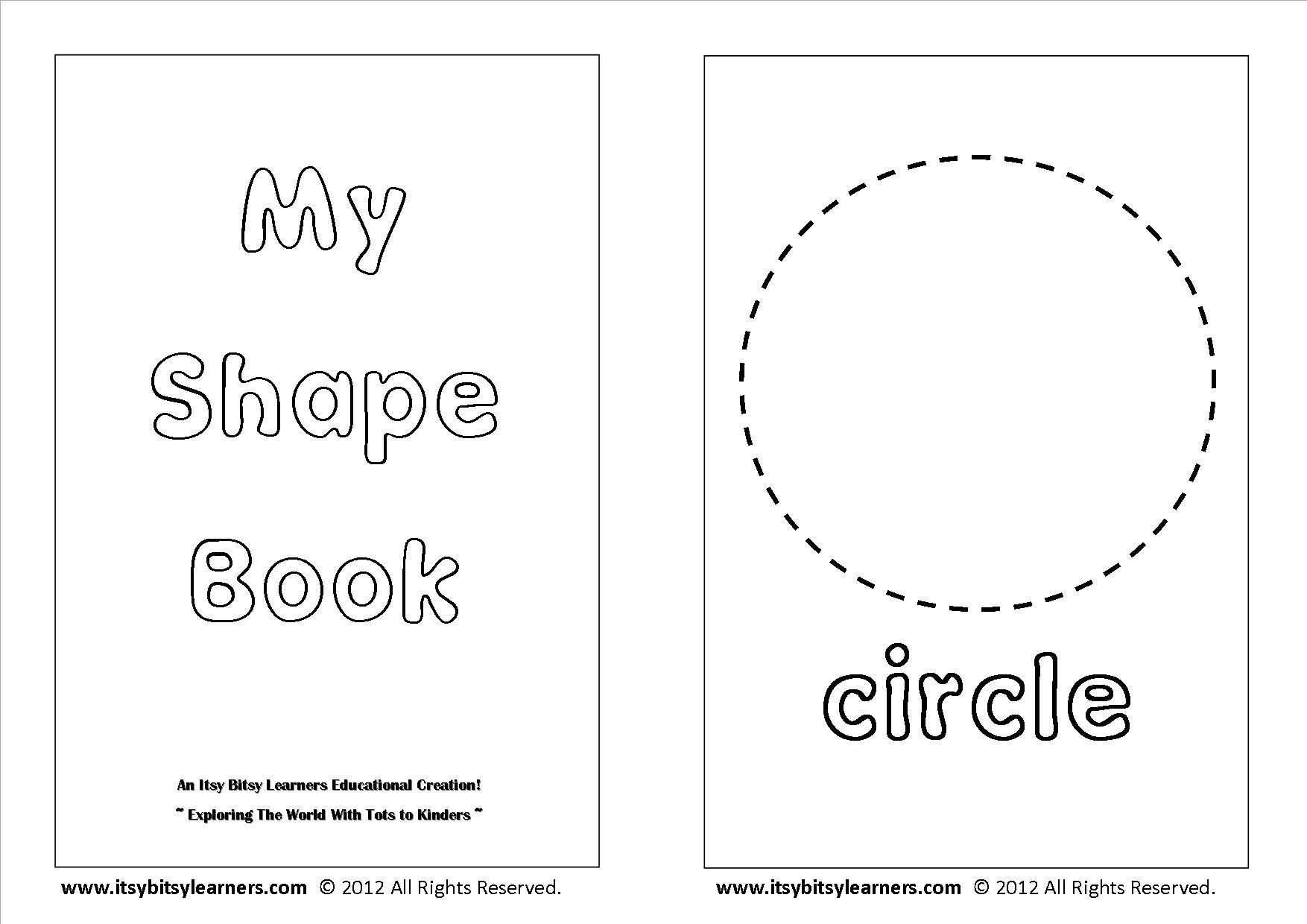 Shapes Coloring Pages For Preschoolers Coloring Pages
