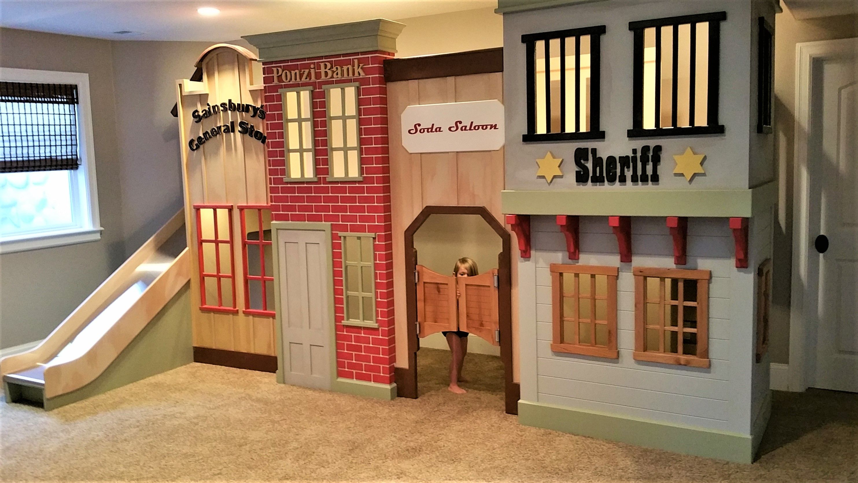 Old West Storefront Playhouse By Play Houses Build A