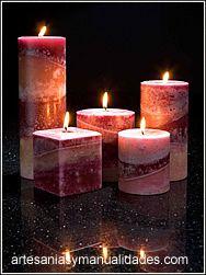 Como Hacer Velas Decoracion Candelas Pinterest Candles Candle - Comohacer-velas