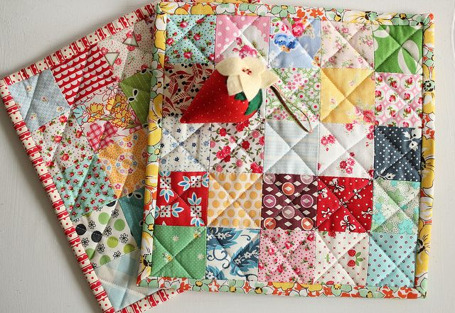 potholders from Beca by PamKittyMorning, via Flickr