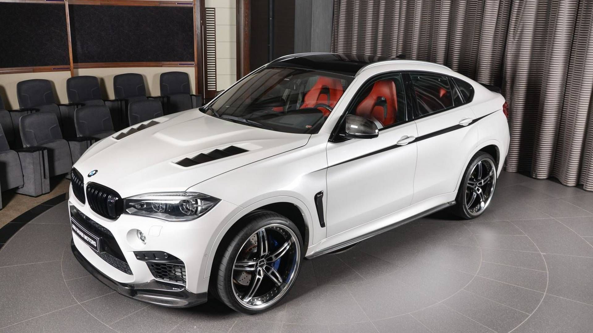 Bmw X6 M With 23 Inch Wheels Makes The Urus Look Restrained Bmw