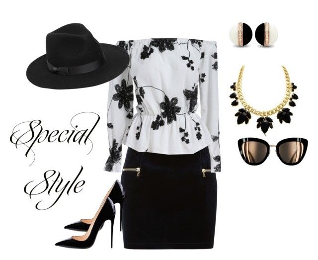"""Special Style"" by katieness ❤ liked on Polyvore featuring Sandro and Lack of Color"