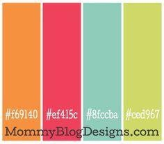 blog color palett - Google Search