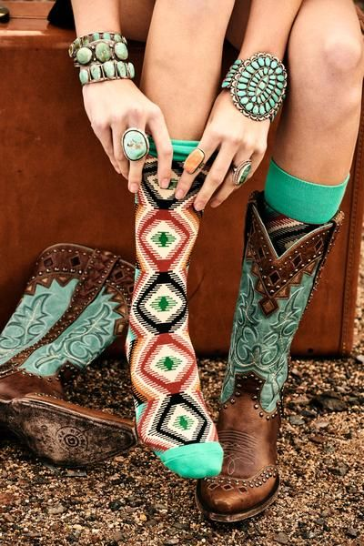 Sock, Braven from Double D Ranchwear COWGIRL Magazine