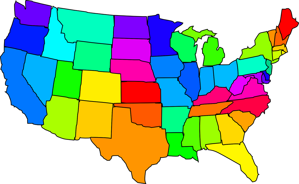 United States Find Best Latest United States In HD For Your PC - Us map desktop wallpaper