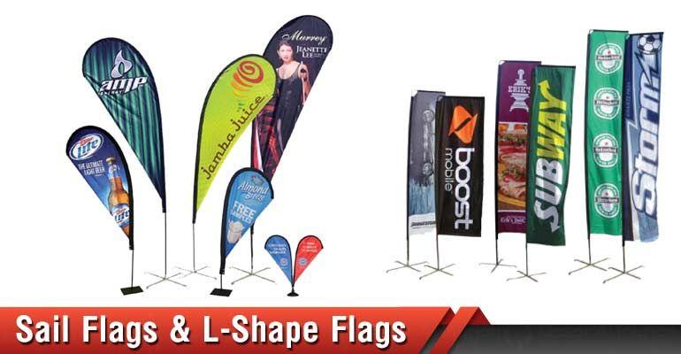 Digitally Printed Flags Custom Flags Banner Advertising Flag