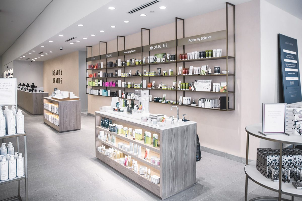 rolls out the new Beauty Brands Retail Store Concept