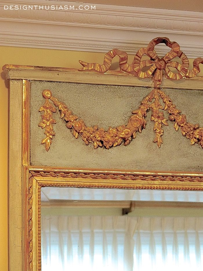 Antique Mirror Drawing