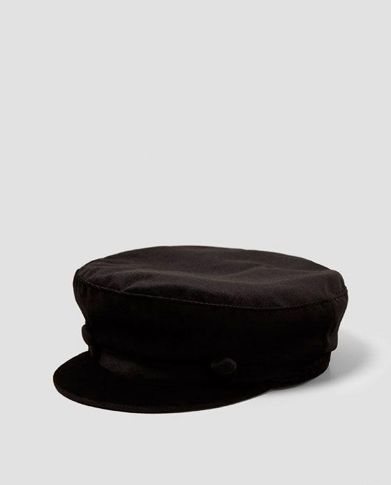 ZARA - WOMAN - VELVET NAUTICAL CAP Gorras 7c5f0700c71