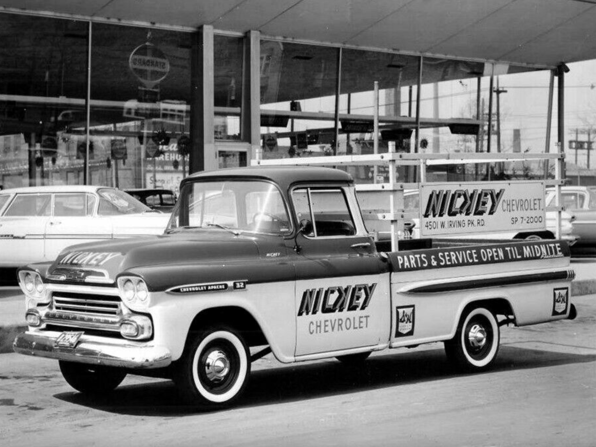 1959 Nickey Chevrolet Dealership Chicago Illinois Chevrolet